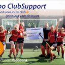 Rabo Clubsupport is weer gestart.