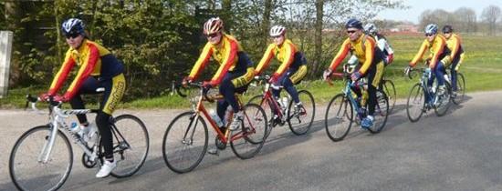 31 maart 2014: eerste fietstraining