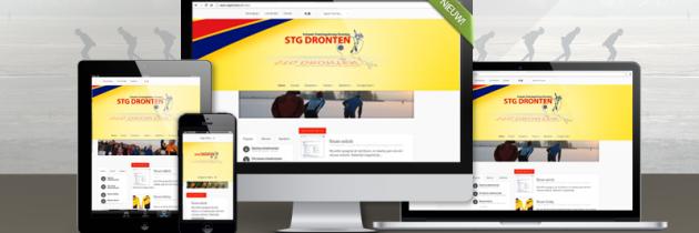 Nieuwe website en nieuwsbrief